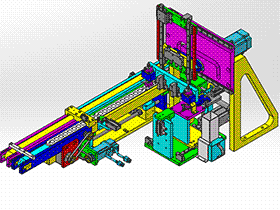 电气检查机 ZDJA1011 solidworks 3D图纸 三维模型