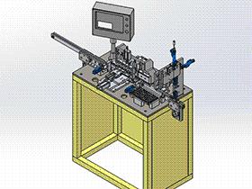 电性能测试机 ZDJA1012 solidworks 3D图纸 三维模型