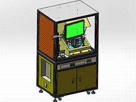 汽车钥匙芯片LCR及功能测试机 ZDJA2009 solidworks格式 3D图纸 三维模型