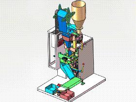 全自动立式封装机 zdba2002 solidworks格式 3D图纸 三维模型