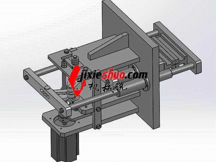 凸轮式-包装机的往复机构 zdba2003 solidworks格式 3D图纸 三维模型