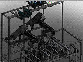 袋式零食折叠包装机 ZDBC1001 solidworks  3D图纸 三维模型