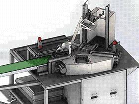 干小吃包装机 ZDBC1003 solidworks  3D图纸 三维模型