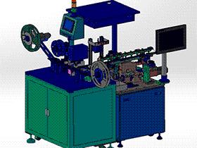 CCD自动检测包装机 ZDBD1003 solidworks  3D图纸 三维模型