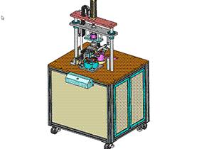电磁感应封边机 ZDBD1006 solidworks  3D图纸 三维模型