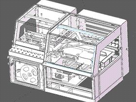 多功能书本包装机 ZDBD1008 solidworks  3D图纸 三维模型