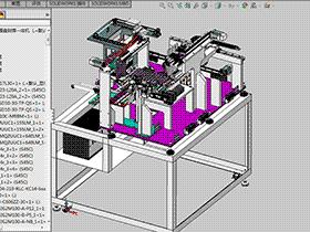 LED元件检测封焊接包装一体机 ZDBD1012 solidworks 3D图纸 三维模型