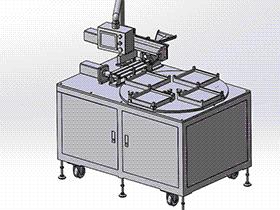 RH磁环包装自动排列机 ZDBD1016 solidworks 3D图纸 三维模型