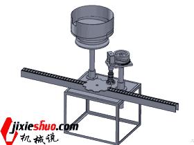 单头封口机 ZDBE1003 solidworks  3D图纸 三维模型