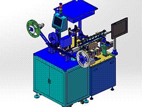 FFC1.0CCD性能检测包装机 双侧包装机 ZDBG1007 solidworks 3D图纸 三维模型