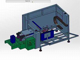 开箱机 zdbh1012 solidworks 3D图纸 三维模型