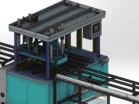 塑料包装盒压弯折边 zdbh1013 solidworks 3D图纸 三维模型