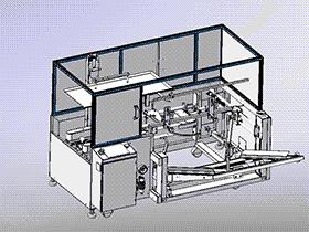 箱包装机 zdbh1014 solidworks 3D图纸 三维模型