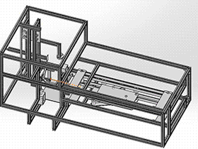 全自动硬纸板包装机 带工程图 zdbh1017 solidworks 3D图纸 三维模型