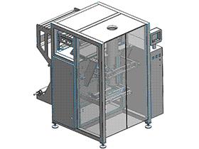 粉状物料包装机 ZDBK1001 solidworks 3D图纸 三维模型
