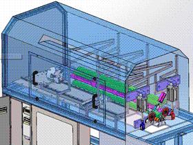 钢管圆管切割机 ZDCA1002 solidworks  3D图纸 三维模型