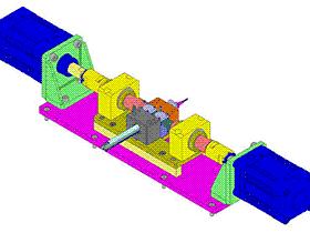 间歇进给切管机 k758 ZDCA1005 solidworks  3D图纸 三维模型