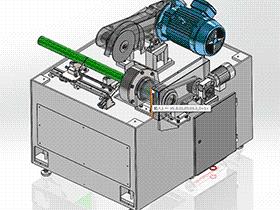 圆钢定长半自动切割机 ZDCA1006 solidworks  3D图纸 三维模型