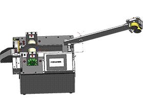 全自动切管机 3D模型 ZDCA1008 solidworks  3D图纸 三维模型