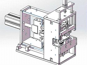 单动力剥扭线设备 ZDCB1002 solidworks  3D图纸 三维模型