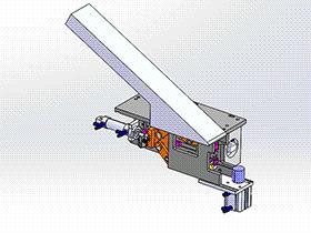 剥线机构 ZDCB1003 solidworks  3D图纸 三维模型