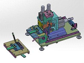 立式剥皮机 ZDCB2005 solidworks  3D图纸 三维模型