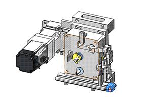 高速送端裁切模组 ZDCD1001 solidworks 3D图纸 三维模型