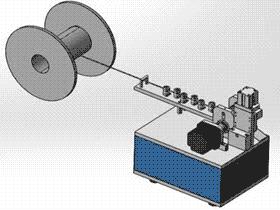 自动切割机切扎带机 ZDCD1002 solidworks 3D图纸 三维模型