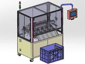 布带自动裁切设备 ZDCD1004 solidworks 3D图纸 三维模型