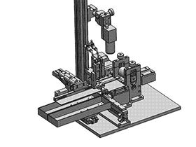 自动裁切机 ZDCD1005 solidworks 3D图纸 三维模型