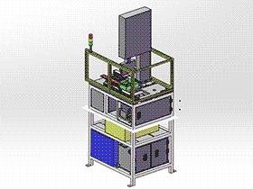 超声波裁切设备 ZDCD1006 solidworks 3D图纸 三维模型