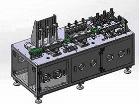 电池裁切设备 ZDCD1007 solidworks 3D图纸 三维模型