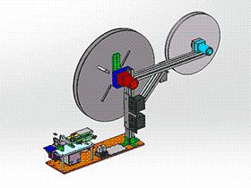泛用型裁切机+收料带设备 ZDCD1009 solidworks 3D图纸 三维模型
