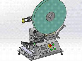 加工端子的自动凸轮裁切机 ZDCD1011 solidworks 3D图纸 三维模型