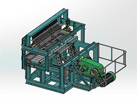 砖厂专用重型切坯机 zdcd2002 solidworks 3D图纸 三维模型