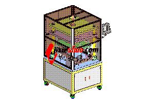 zdcd2006_一台裁切机 solidworks 3D图纸 三维模型