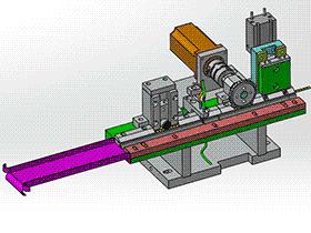 F11052-裁切送料 带工程图 zdcd2009 Solidworks 格式 3D图纸 三维模型