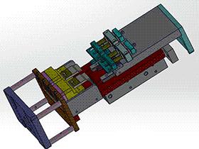 裁切机构 zdcd2010 Solidworks 格式 3D图纸 三维模型