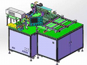 电线激光切割剥皮裁切机FFC切断机 zdcd2012 Solidworks 格式 3D图纸 三维模型