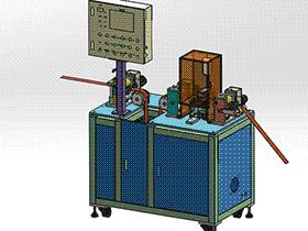 苹果手机FFC及FPC软排线裁切机 zdcd2015 Solidworks 格式 3D图纸 三维模型