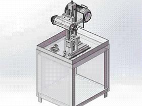 手机边框切割机 ZDCE2002 solidworks 3D图纸 三维模型