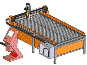 等离子切割机 ZDCJ1005 solidworks  3D图纸 三维模型