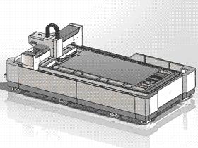 龙门架移动式500W激光切割机_G85_ZDCJ2002