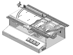 带锯 ZDCS1004 solidworks 3D图纸 三维模型