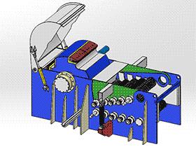 木材削片机 ZDCS1005 solidworks 3D图纸 三维模型