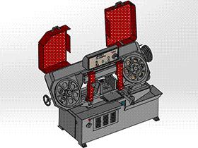 4030,4028剪刀式带锯床 zdcs2008 Solidworks 格式 3D图纸 三维模型