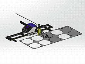 数控等离子火焰切割机 zdct1001 通用格式 3D图纸 三维模型