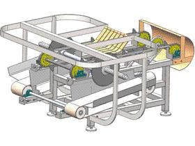 带传动双切割盘切割机 zdct1002 通用格式 3D图纸 三维模型