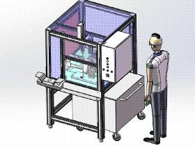 铝加工全自动切割机 zdct1003 通用格式 3D图纸 三维模型