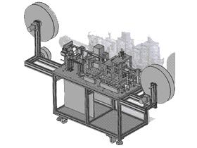 电子包装类载带成型机/ZDEA1001